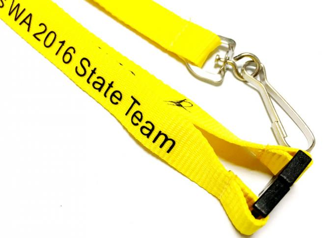 Safety Break Flat Neck Strap Lanyard Promotional Gift Business Accessory